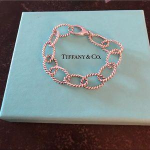 Tiffany & Co. New Chain Link Bracelet